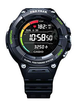"Casio Pro Trek"" Outdoor Heart-rate Monitor GPS Sports Watch"