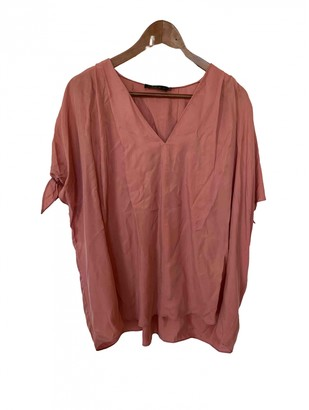 Hatch Pink Cotton Top for Women