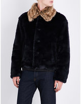 Dries Van Noten Viley Faux-fur Jacket