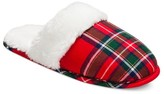 Gilligan & O Women's Slide Slipper - Red Plaid Gilligan & O'Malley