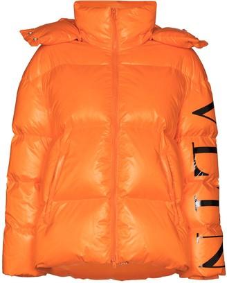 Valentino VLTN logo puffer jacket