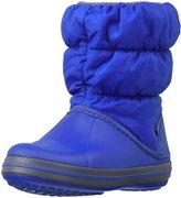Crocs Winter Puff Boot (Tod/Yth) - Cerulean Blue/Light Grey - 11 Toddler