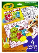 Crayola Color Wonder Double Sided Puzzles