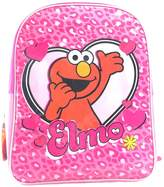 Sesame Street Sesame Street's Elmo Heart Graphic Colored Kid's Size Backpack (16in)