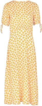 Faithfull The Brand Brida floral-print midi dress