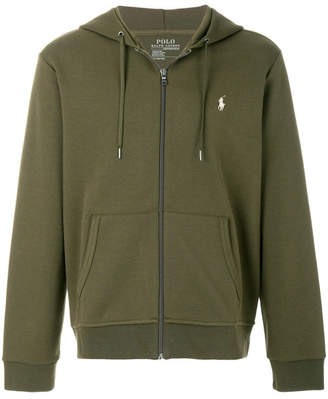 Polo Ralph Lauren Zipped Cotton Hoodie