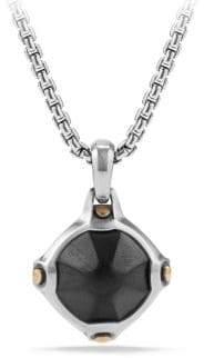 David Yurman Anvil Faceted Hematine Amulet