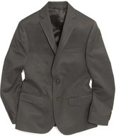 Lauren Ralph Lauren Husky Boys' Solid Grey Suit Jacket