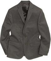 Lauren Ralph Lauren Husky Boys' Solid Grey Suit Jacket