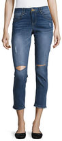 Democracy Cropped Distressed Pants