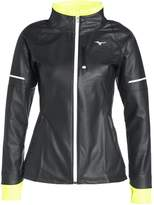 Mizuno STATIC Sports jacket black/safety yellow