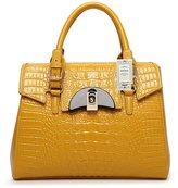 ZUNIYAAA Vintage Fashion Genuine Leather Handbags Shoulder Bag Tote for Woen(ladies)/Girl