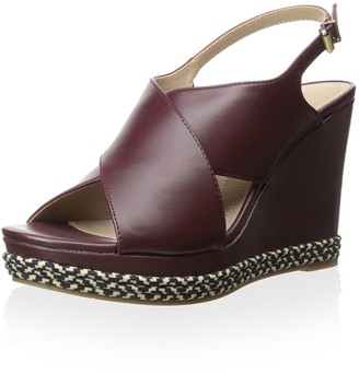 Ellen Tracy Women's Nieve Wedge Sandal