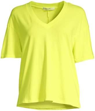 Stateside Neon V-Neck T-Shirt