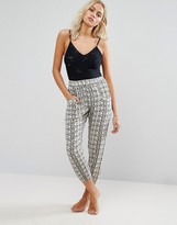 Amuse Society Tile Print Beach Pant