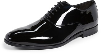 HUGO BOSS Highline Patent Oxford Lace Up