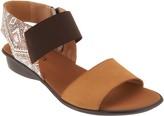 Sesto Meucci Leather Color Block Sandals - Eirlys