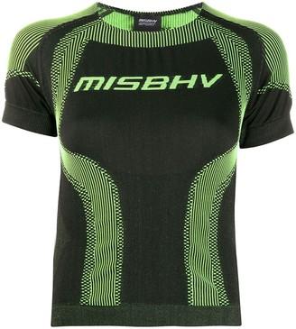 Misbhv Sport Active Wear cropped T-shirt