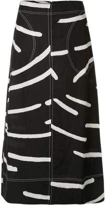 Lee Mathews Palmas A-Line skirt