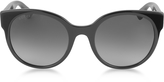 Gucci GG0035S 001 Black Optyl Round Women's Sunglasses