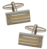 AJ Fashion Jewellery Cole Silver and tone Cufflinks