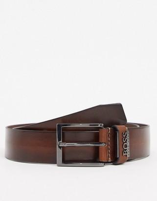 HUGO BOSS senol leather belt