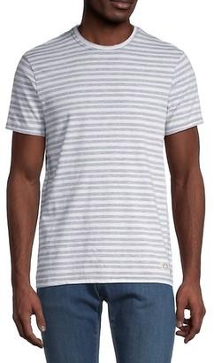 Buffalo David Bitton Striped Cotton T-Shirt