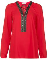 Altuzarra lace up top