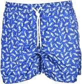 Fedeli Printed Swim Shorts