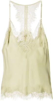 Gold Hawk Lace Insert Camisole