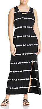 Andrew Marc Plus Performance Plus Tie-Dyed Jersey Maxi Dress