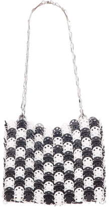 Paco Rabanne Iconic 1969 Black & White Shoulder Bag