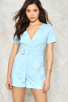 Nasty Gal nastygal That's a Wrap Romper