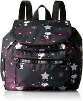 Le Sport Sac Peanuts X Small Edie Backpack Backpack