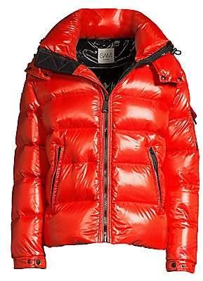 SAM. Men's Glacier Nylon Down Puffer Jacket