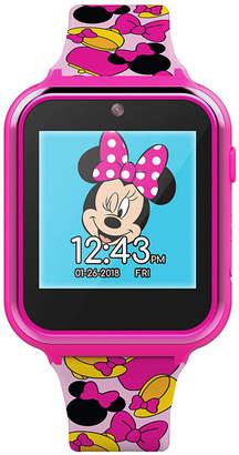 Disney Collection Minnie Mouse Girls Pink Smart Watch-Mn4116jc
