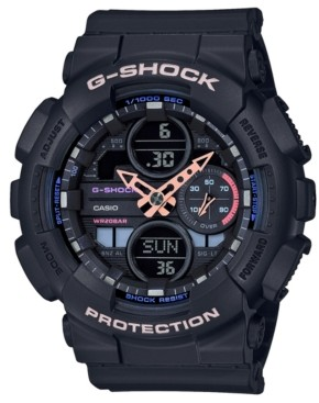 G-Shock Men's Analog-Digital Black Resin Strap Watch 45.9mm
