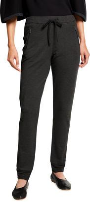 Majestic Filatures Drawstring Lounge Pants w/ Zipper Pockets