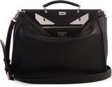 Fendi Selleria Bag Bugs Peekaboo leather weekend bag