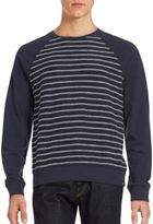 AG Adriano Goldschmied Striped Long Sleeve Pullover