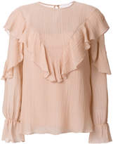 See by Chloe frilled blouse
