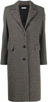 P.A.R.O.S.H. Houndstooth Pattern Coat