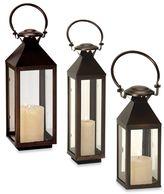 Cambridge Silversmiths Classic Lantern Candle Holder in Bronze