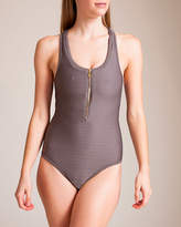Heidi Klein Huntington Beach Racerback Swimsuit