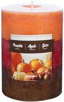 "SONOMA Goods for LifeTM 4"" x 3"" Spice Tri-Pour Pillar Candle"