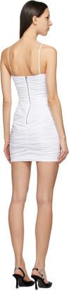 Alexander Wang White Corset Mini Dress