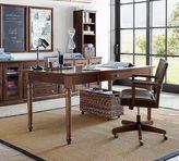 Pottery Barn Printer's Writing Desk - Large, Tuscan Chestnut