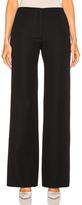 Victoria Beckham Flare Trouser in Black.
