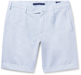 Incotex - Cotton And Linen-blend Shorts