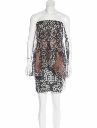 Lanvin Sequined Silk Dress w/ Tags Black